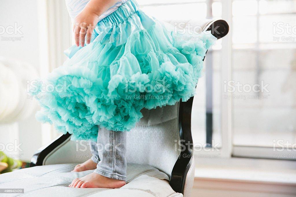 Ballet Tutu stock photo