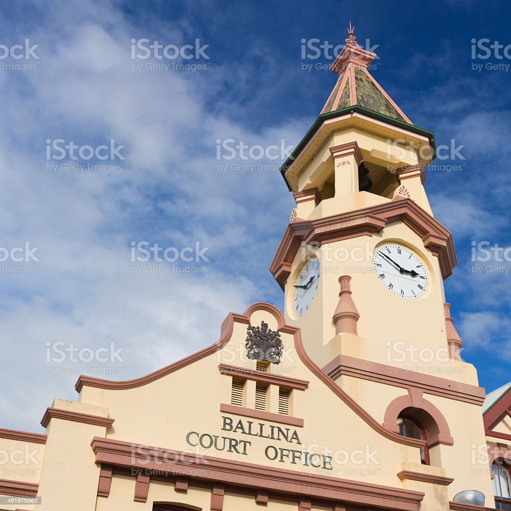 Ballina Court Office stock photo