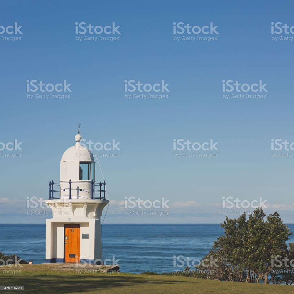 Ballina Lighthouse stock photo