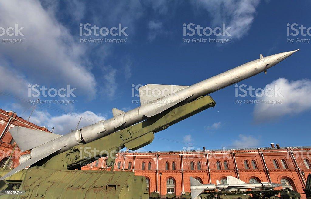 ballistic missile stock photo