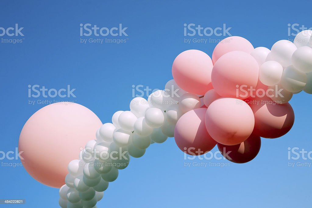 ballons at children party royalty-free stock photo