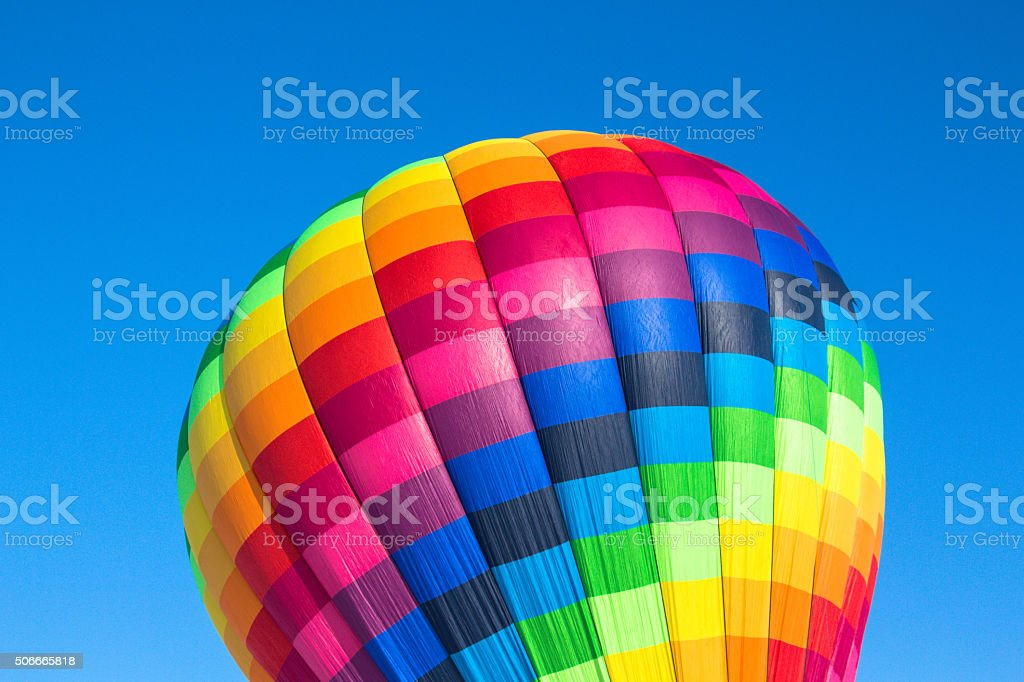 Balloon and blue sky stock photo