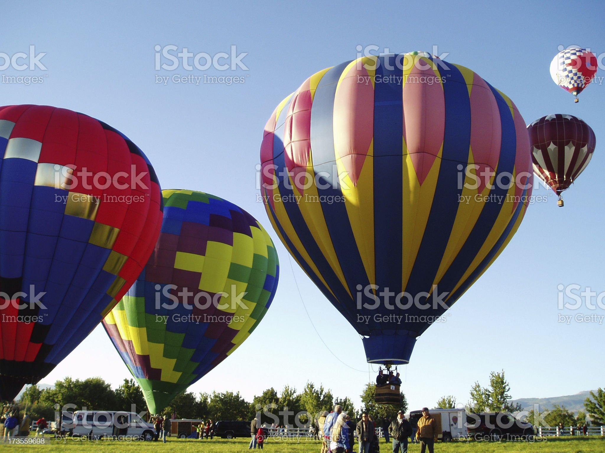 Balloon Festival royalty-free stock photo
