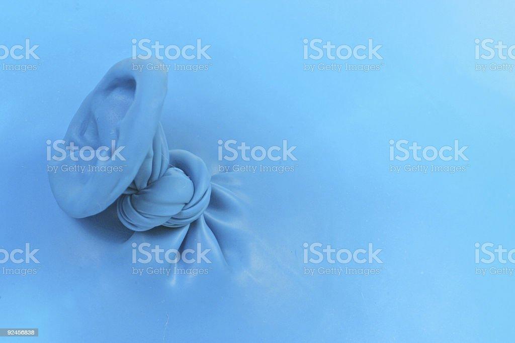 Balloon Knot royalty-free stock photo