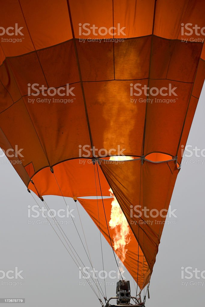 Balloon Lift-Off royalty-free stock photo