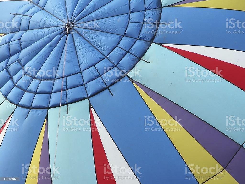 Balloon macro stock photo