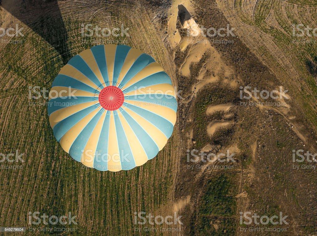 Balloon ride Cappadoccia, Anatolia, Turkey stock photo