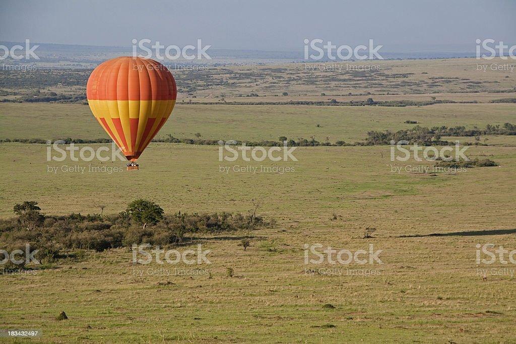 Balloon Safari royalty-free stock photo