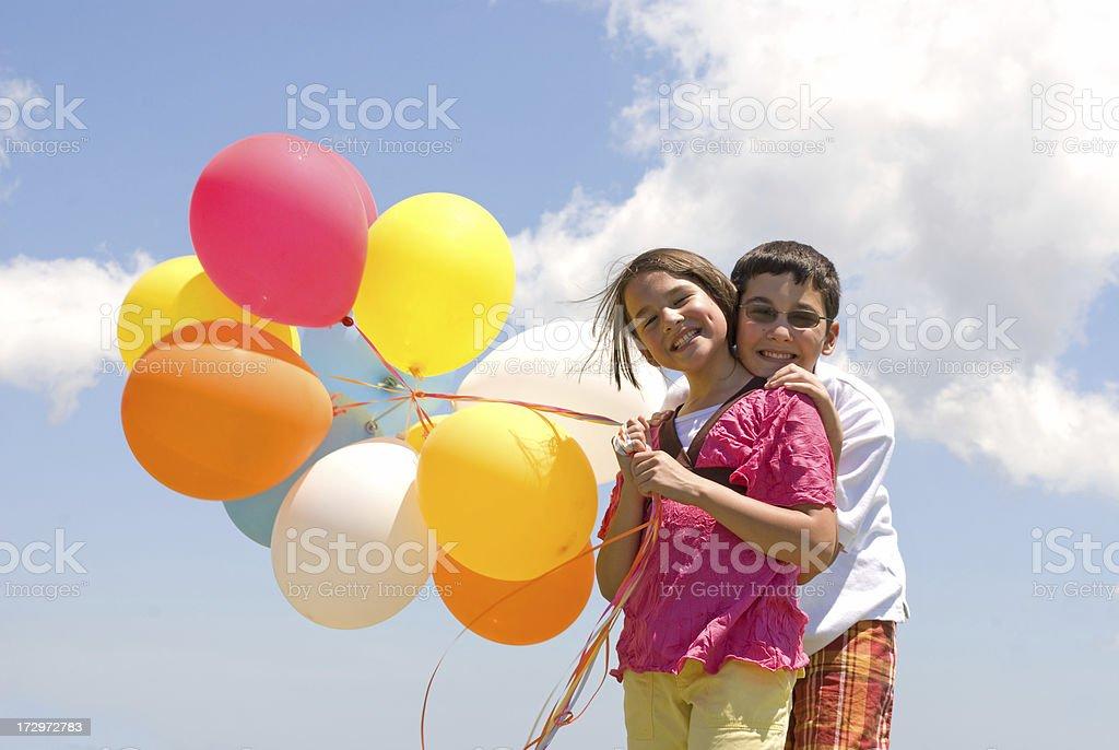 Balloon Time royalty-free stock photo