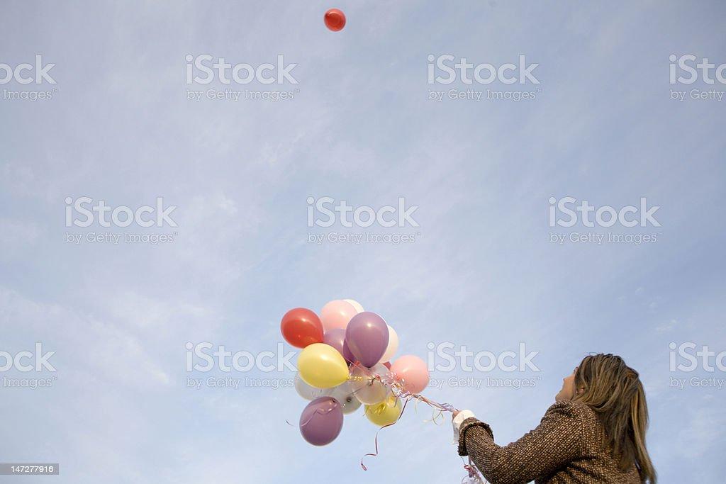 Balloon Wonder. royalty-free stock photo