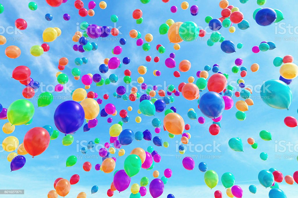 Balloons A1 stock photo