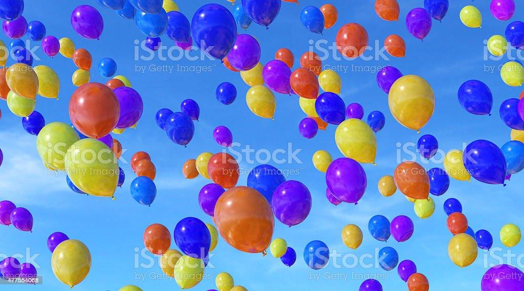 Balloons B19 stock photo