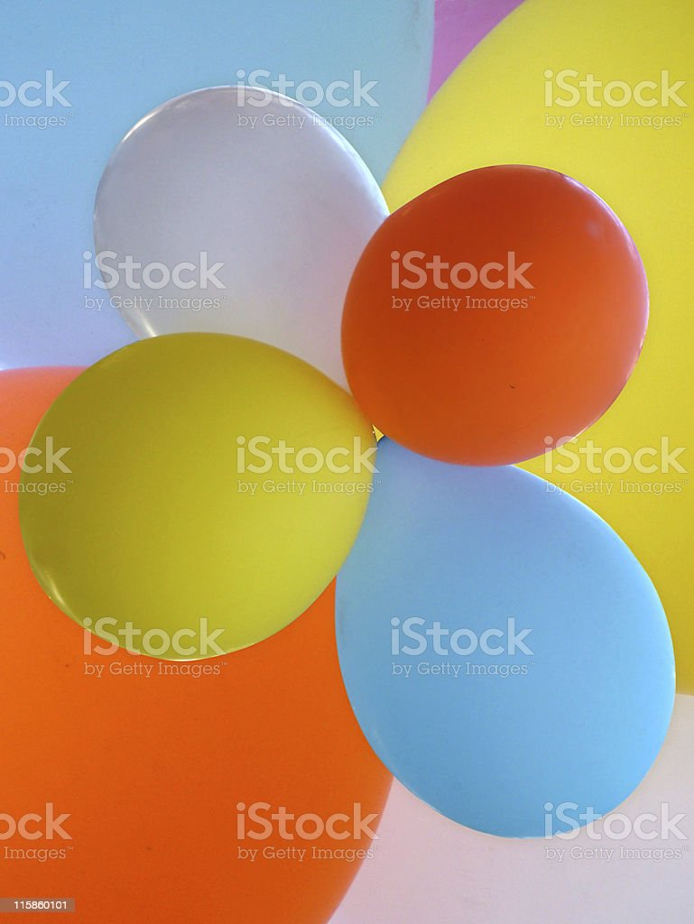 Balloons background royalty-free stock photo