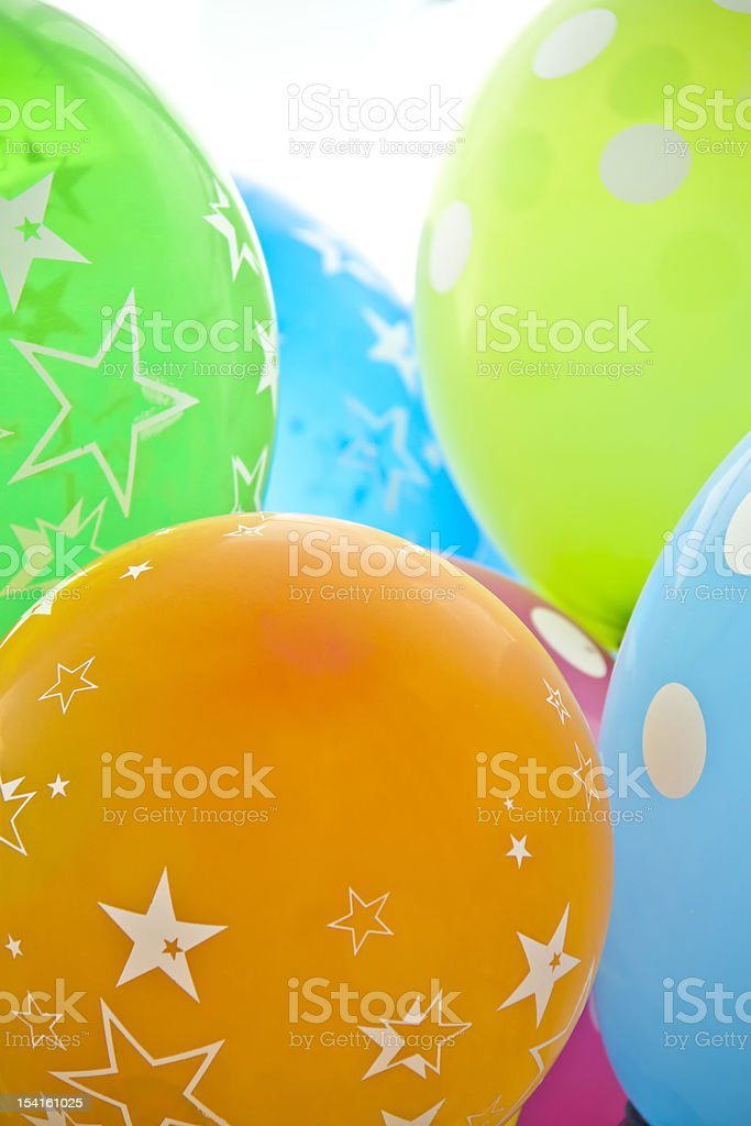 Balloons for celebrations royalty-free stock photo