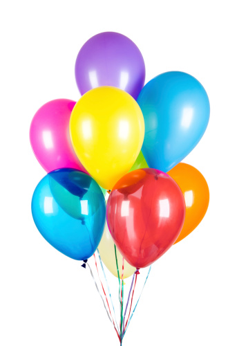 Balloons And Streamers Background Pictures, Images and ...