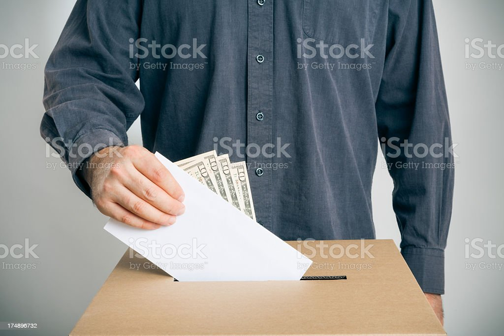 ballot rigging royalty-free stock photo