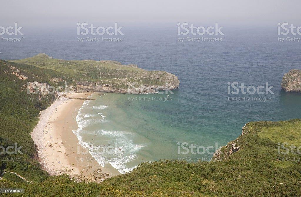Ballotta Beach stock photo