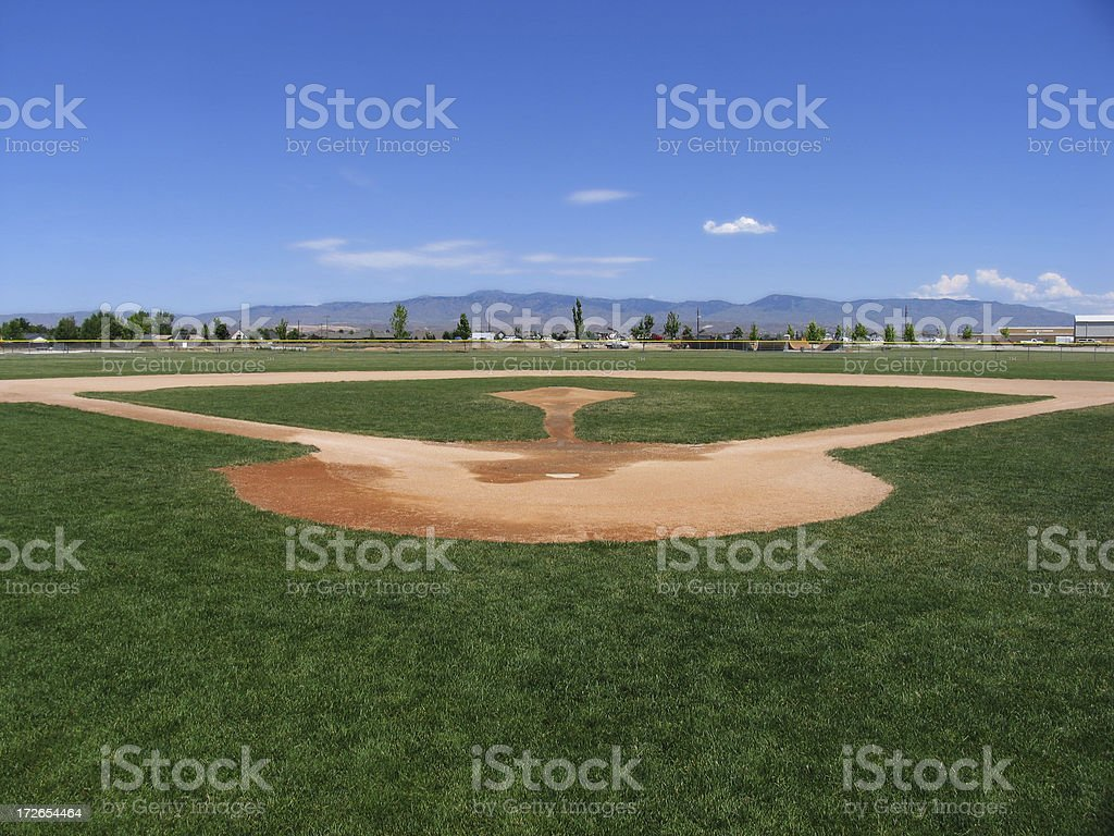 Ballpark stock photo