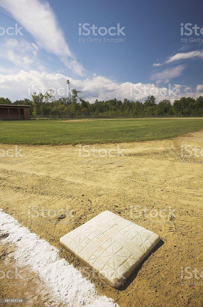 Ballpark royalty-free stock photo
