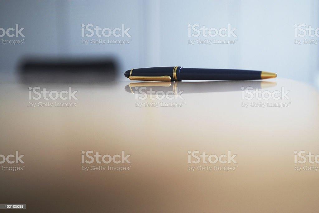 Ballpoint Pen stock photo