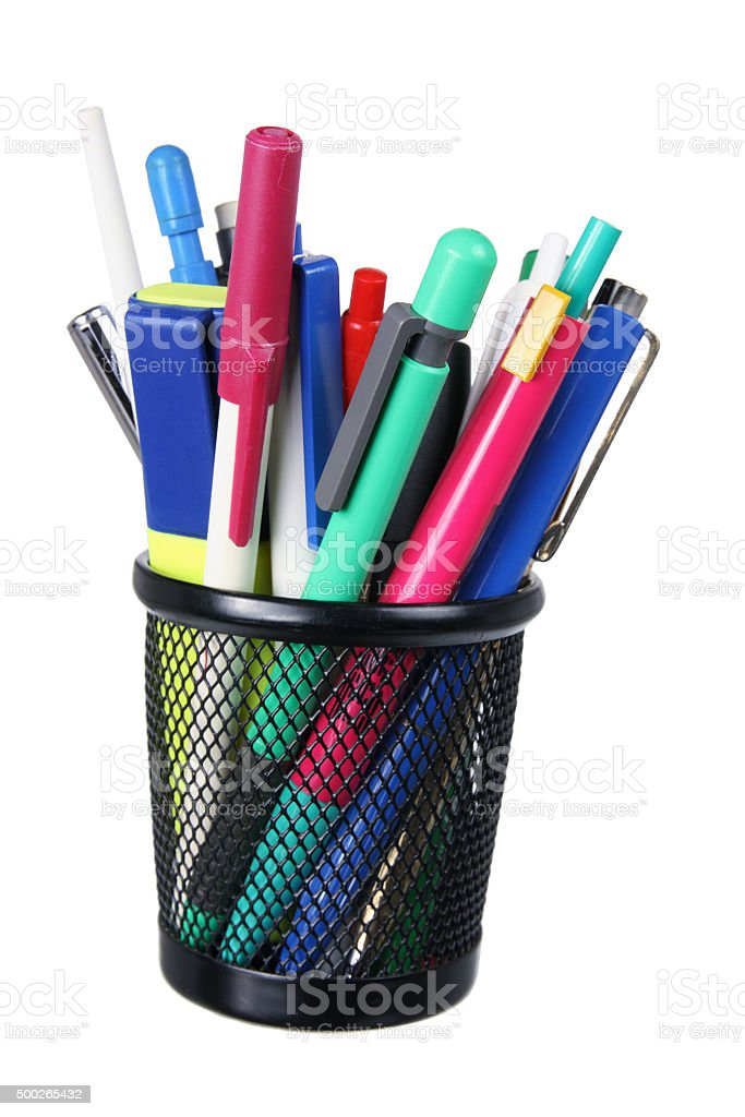 Ballpoint Pens stock photo