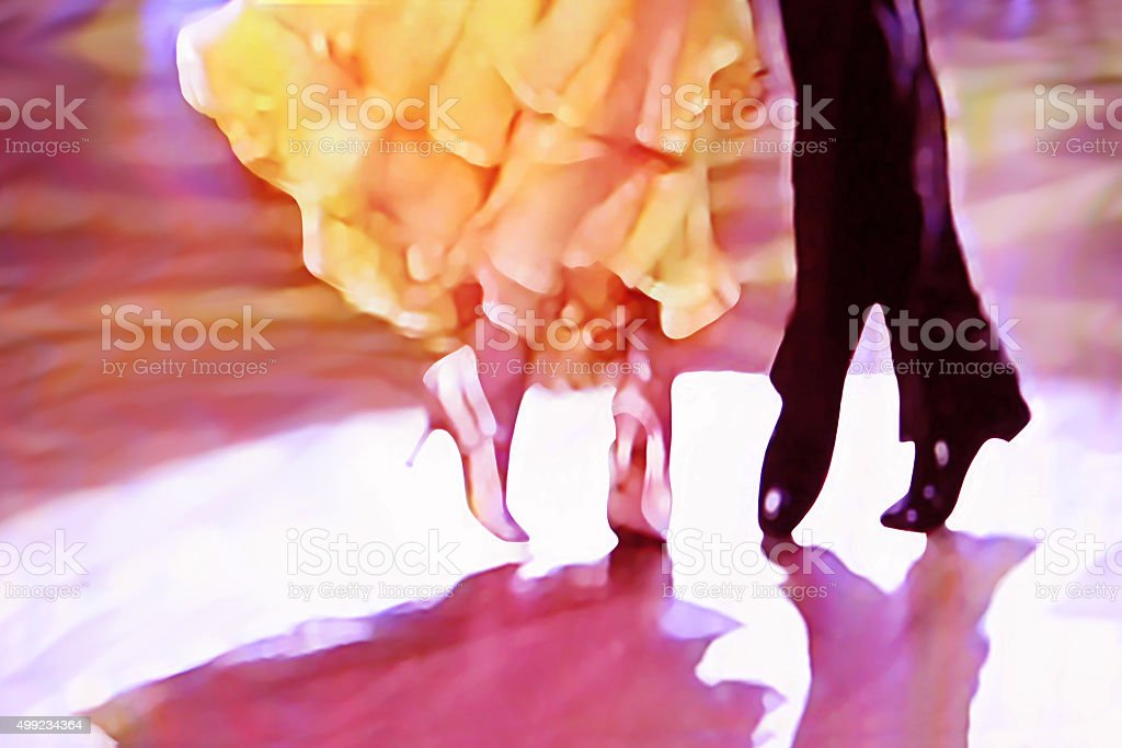 Ballroom dance floor abstract 5465 stock photo