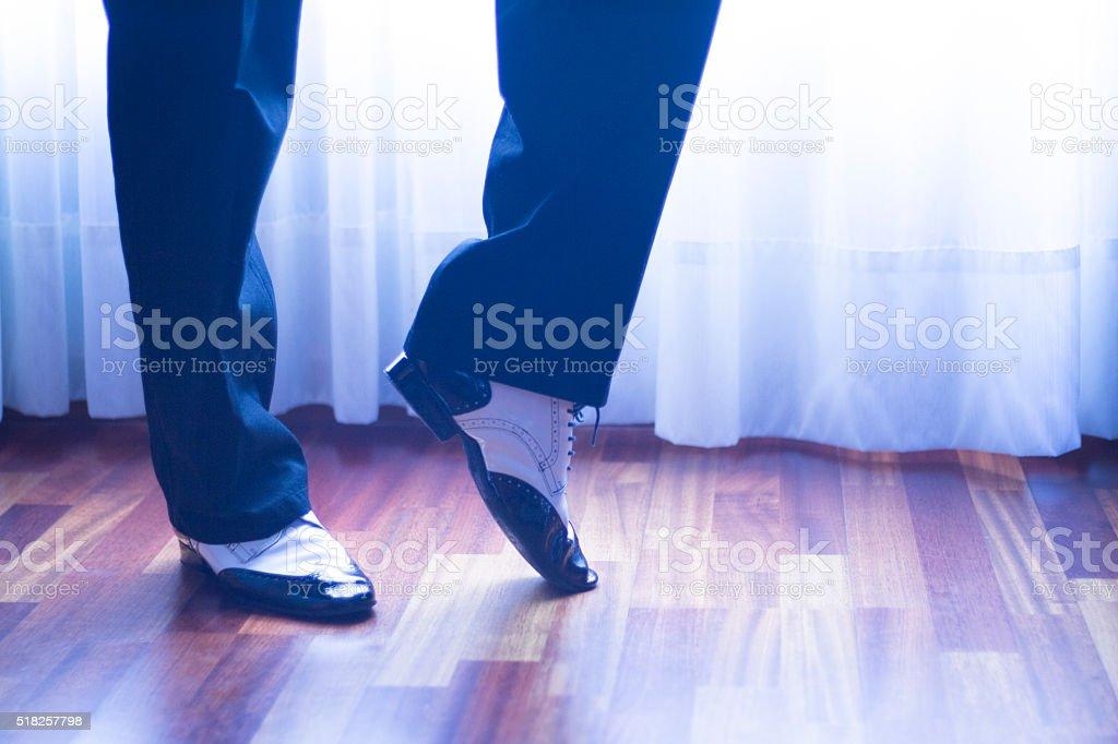 Ballroom dance latin dancer stock photo