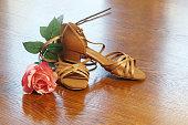 Ballroom dance shoes.Ballroom dance shoes.Ballroom dance shoes