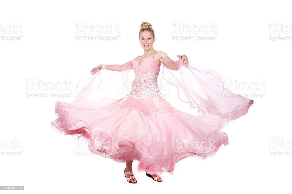 Ballroom Dancer stock photo