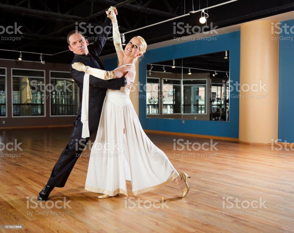Ballroom Dancing Couple stock photo