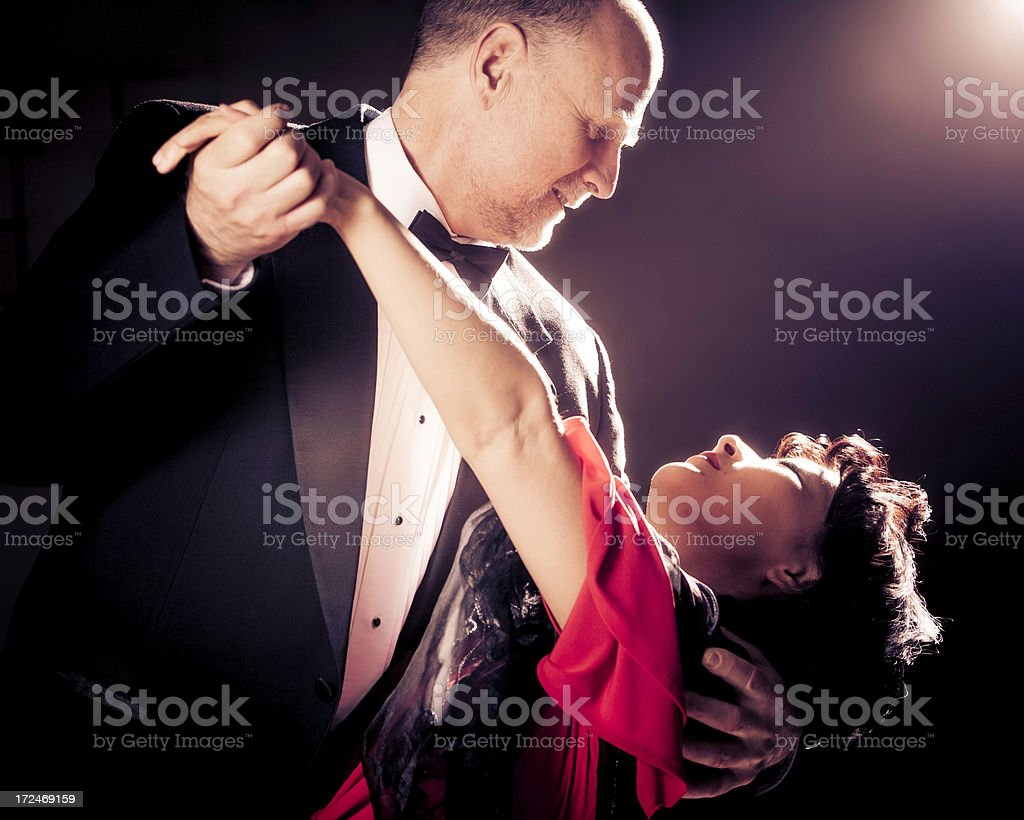 Ballroom Dancing royalty-free stock photo