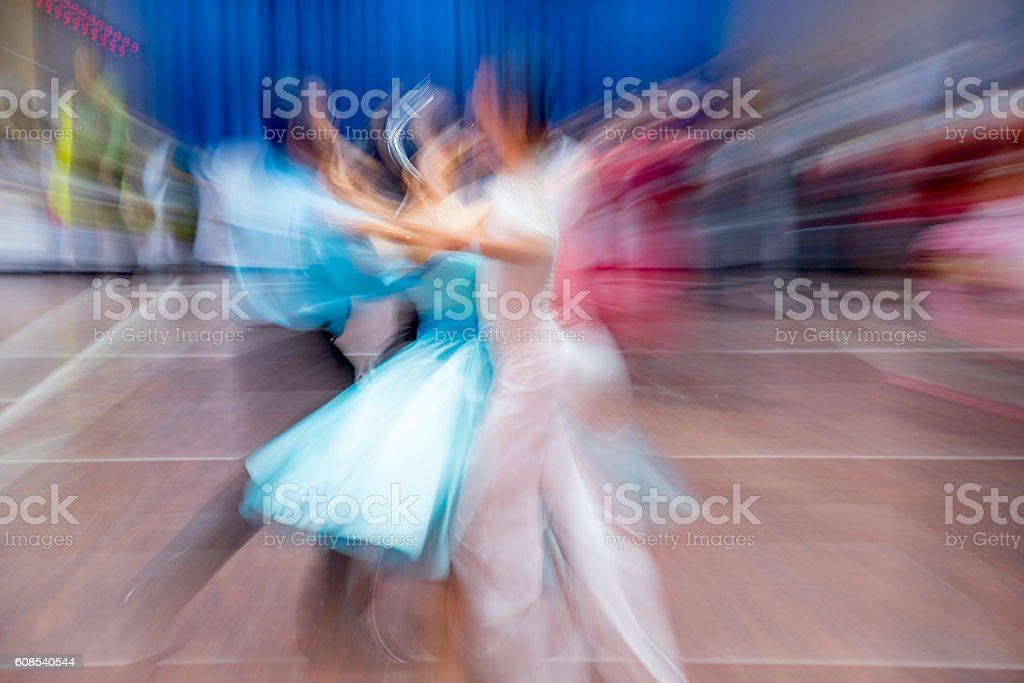 Danse de salon photo libre de droits
