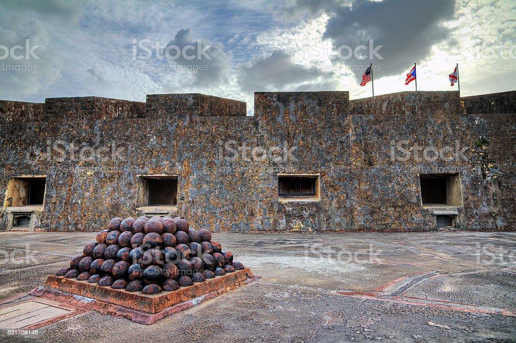 Balls of Cristobal stock photo