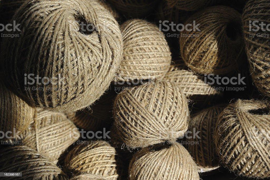 Balls of String royalty-free stock photo