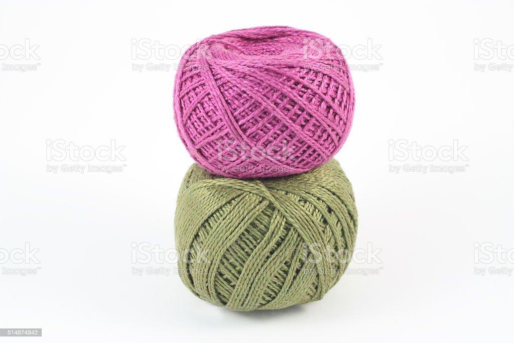 Balls of yarn royalty-free stock photo