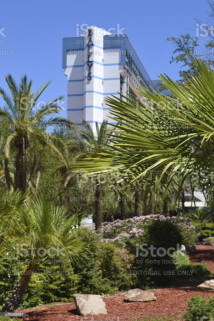Bally's Casino and Hotel In Las Vegas royalty-free stock photo