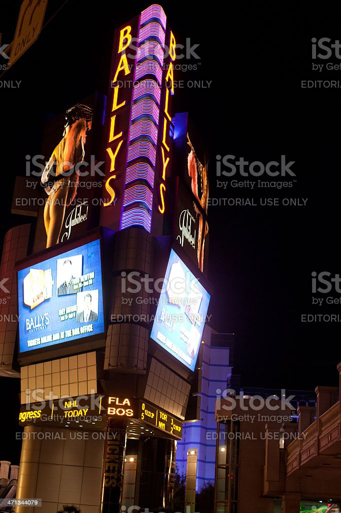 Ballys Las Vegas stock photo