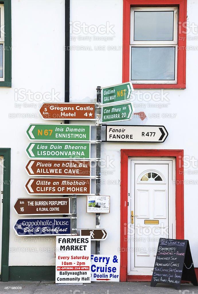 Ballyvaughan, Ireland stock photo