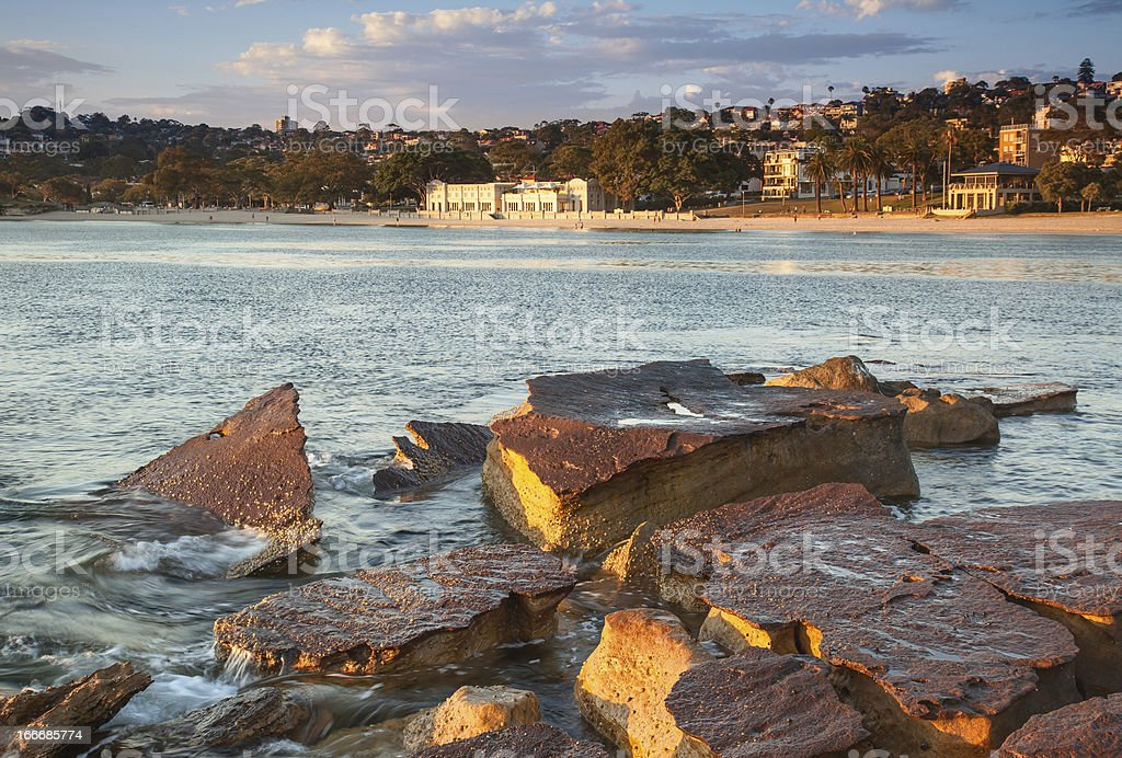 Balmoral Beach royalty-free stock photo