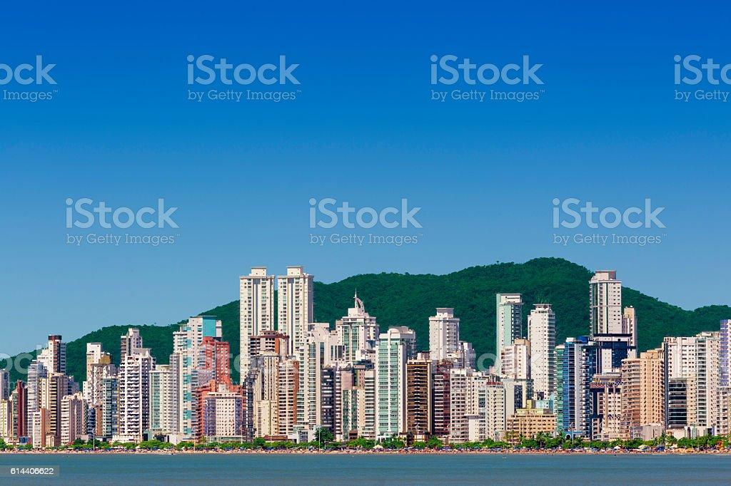Balneario Camboriu in Brazil stock photo