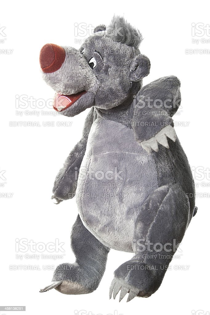 Baloo Sloth Bear, The Jungle Book stock photo