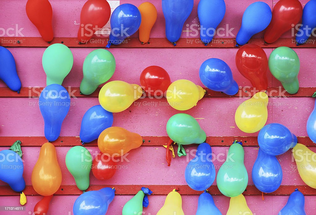 Baloons at Fair stock photo