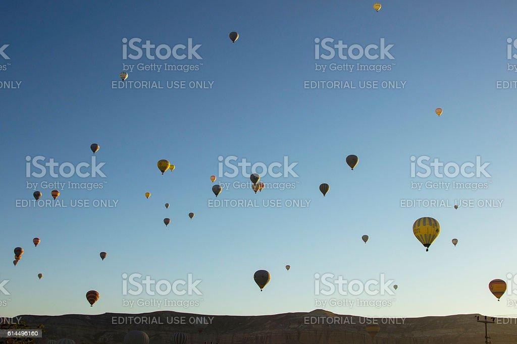 Baloons sun shine stock photo