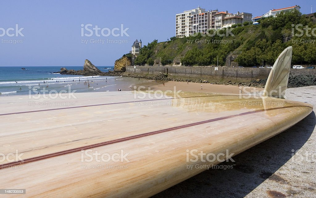 Balsa Board stock photo