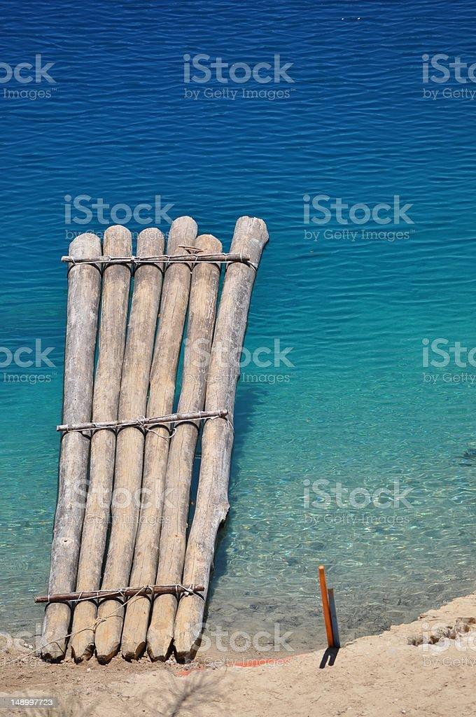 Balsa wood. stock photo