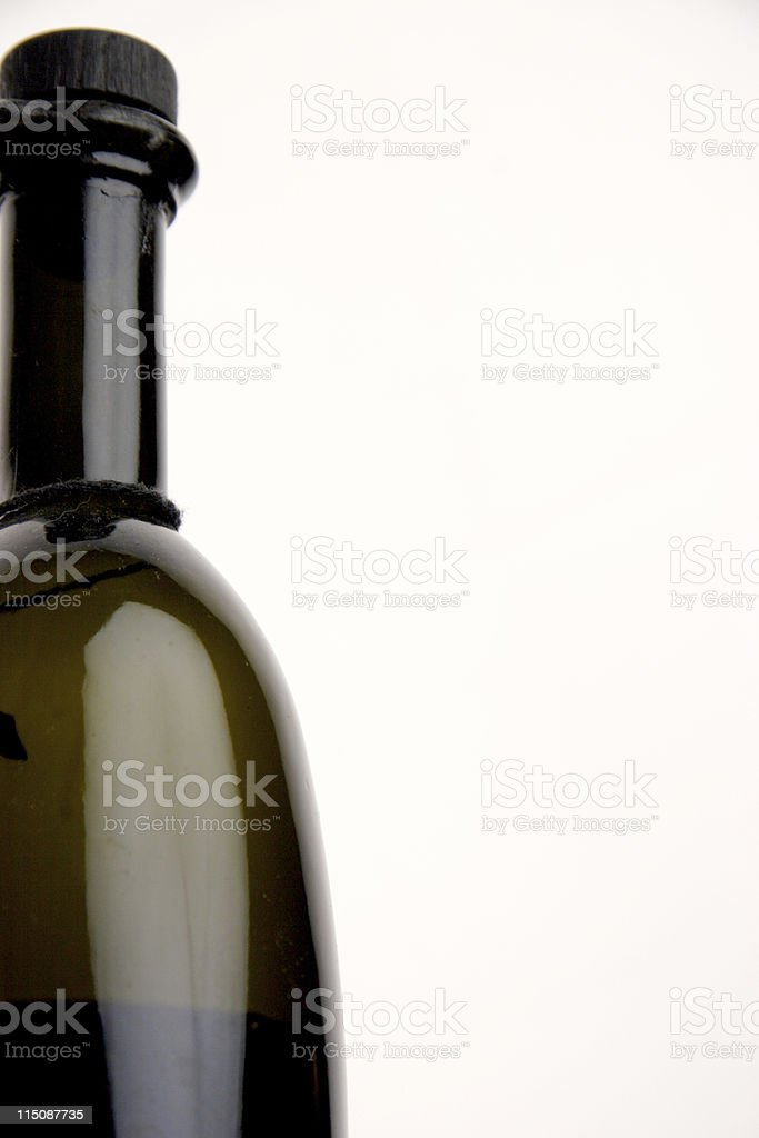 balsamic vinegar bottle royalty-free stock photo