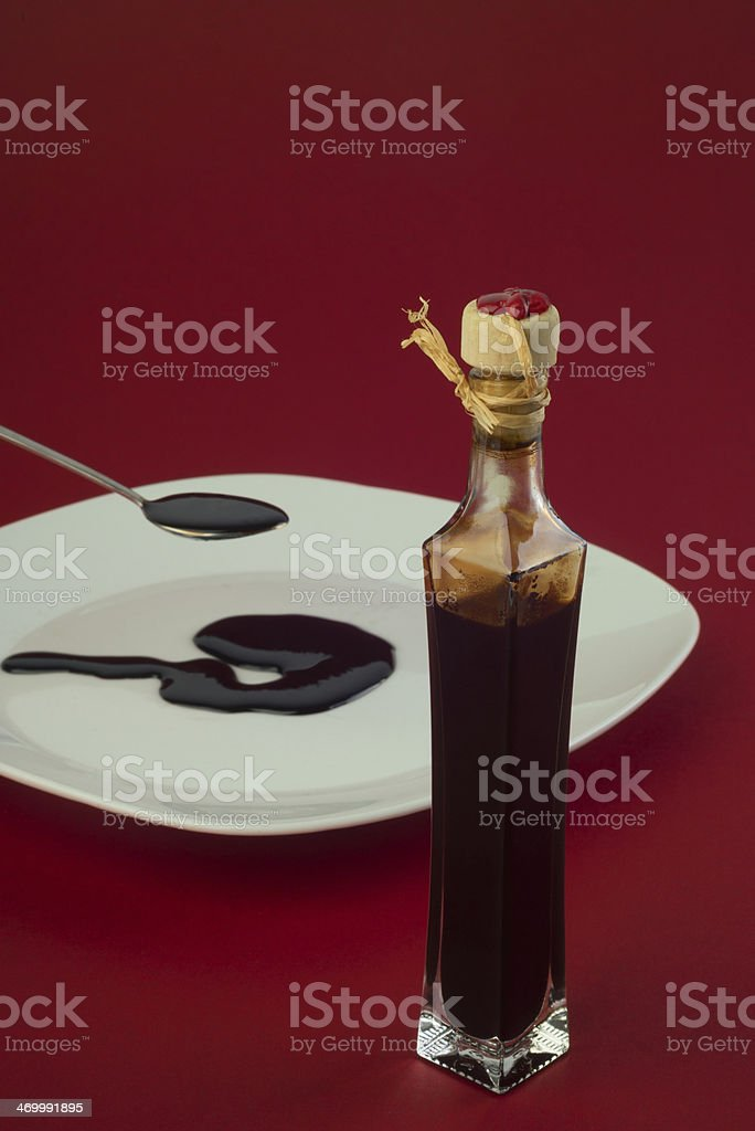 balsamic vinegar Modena stock photo