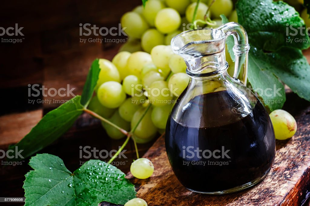 Balsamic vinegar stock photo