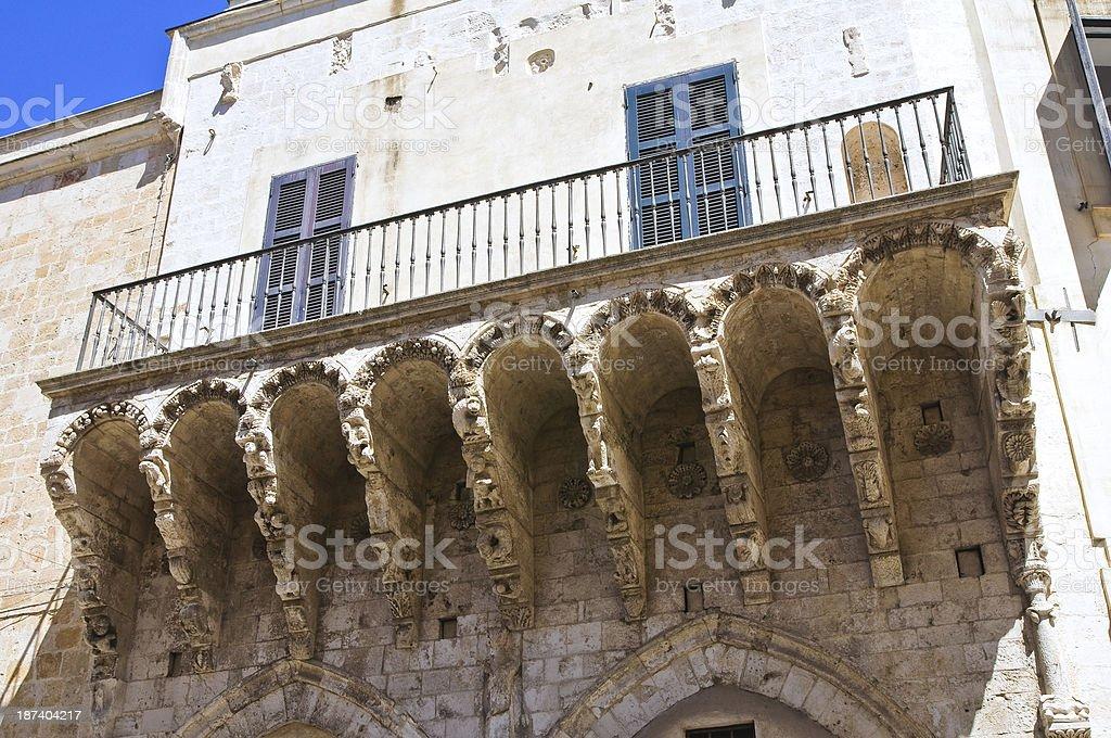 Balsamo Loggia. Brindisi. Puglia. Italy. stock photo