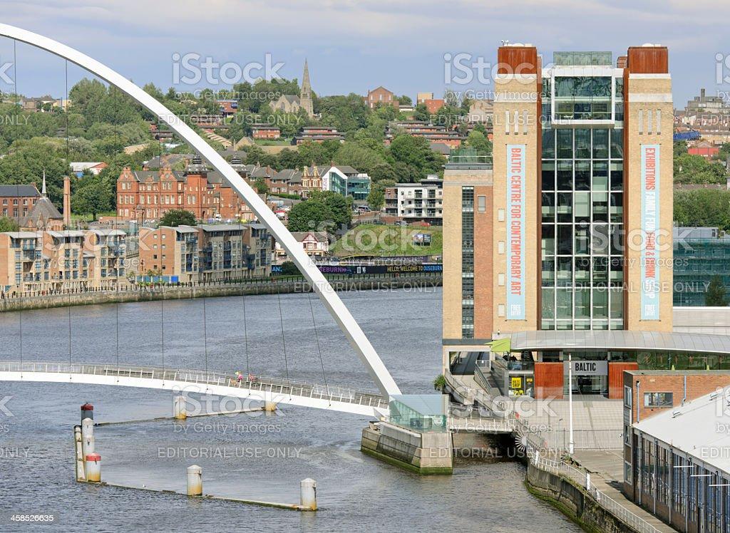 Baltic Centre For Contempory Arts, Gateshead stock photo